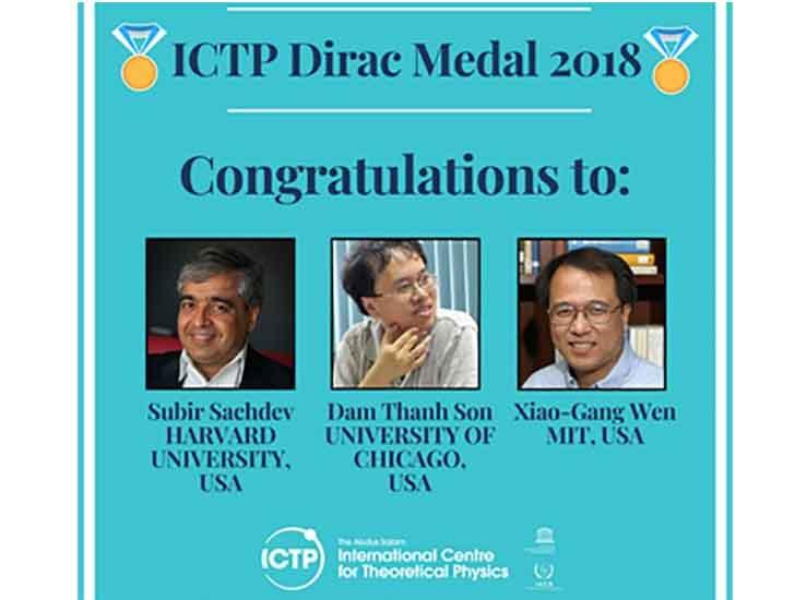 Giáo sư Đàm Thanh Sơn được trao Huy chương Vật lý Dirac danh tiếng