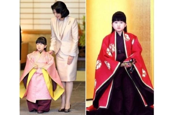 Cận cảnh nhan sắc thuần khiết của công chúa Aiko Nhật Bản