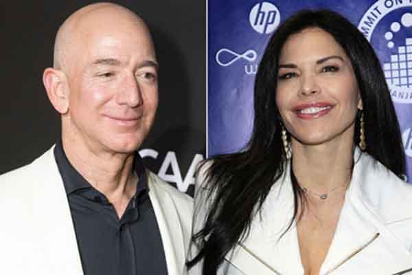 Bỏ ngoài tai lời chỉ trích, tỷ phú Amazon rạng rỡ bên nhân tình