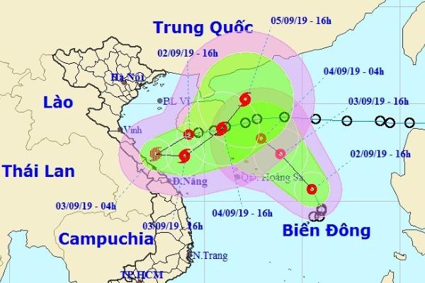 """Hai áp thấp nhiệt đới """"hút nhau"""" trên biển Đông"""