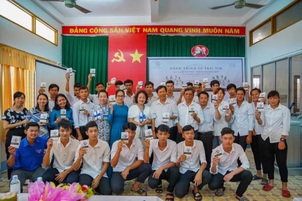 Hành trình từ Trái Tim: Trao khát vọng cho tuổi trẻ Trà Vinh