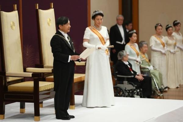 Nhật Bản đón mừng lễ lên ngôi của Nhật hoàng Naruhito