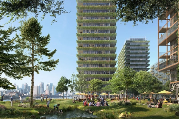 """Tại sao châu Á lại """"chậm chân"""" trong việc xây dựng công trình xanh?"""