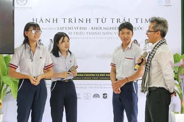 Hành trình từ Trái tim đến với tuổi trẻ vùng U Minh Thượng