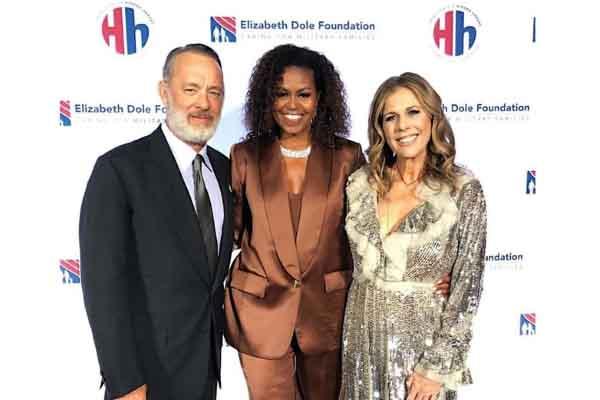 Bà Michelle Obama mặc đồ của NTK Công Trí