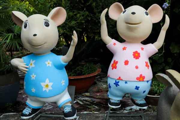 """Chiêm ngưỡng mô hình đàn chuột sẽ """"ra mắt"""" tại đường hoa Nguyễn Huệ"""
