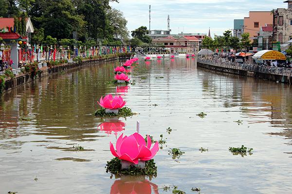Lễ hội Nguyễn Trung Trực không sử dụng chất thải nhựa