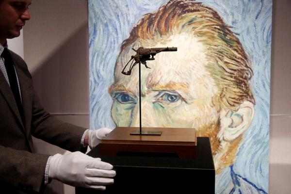 Khẩu súng giết Van Gogh có giá 3,3 tỉ đồng
