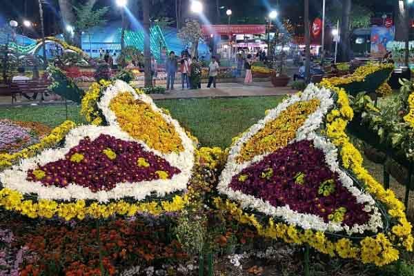 Tết 2020, TP.HCM sẽ có nhiều Hội Hoa Xuân, chợ hoa tết tại các công viên