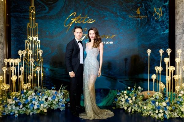 Hồ Ngọc Hà, Kim Lý sánh đôi trong đêm tiệc thượng lưu tại Khách sạn Vinpearl Luxury Landmark 81