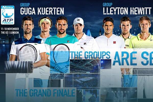 ATP Finals 2018: Nadal ở nhà, Federer hẹn Djokovic chung kết