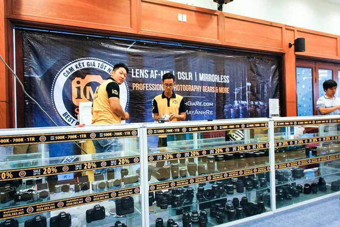 Khai mạc triển lãm các thiết bị dành cho ngành ảnh