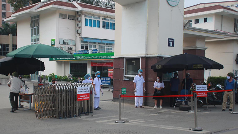 Từ bệnh viện Bạch Mai: Thêm 6 ca bệnh mới nhiễm Covid-19