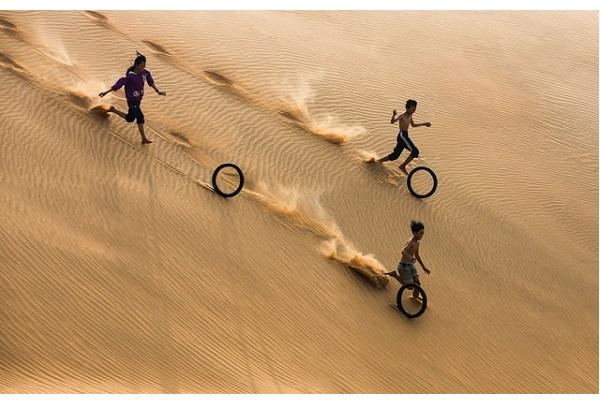 Nhiếp ảnh gia người Việt mang tới niềm vui cho người xem qua ảnh