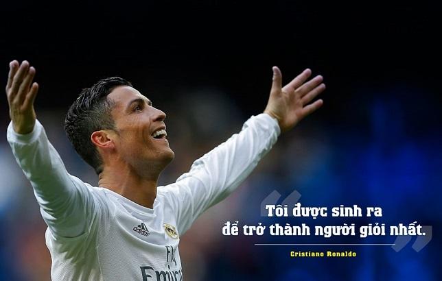 Ronaldo: 'Tôi giỏi nhất và tôi thể hiện điều đó trên sân cỏ'
