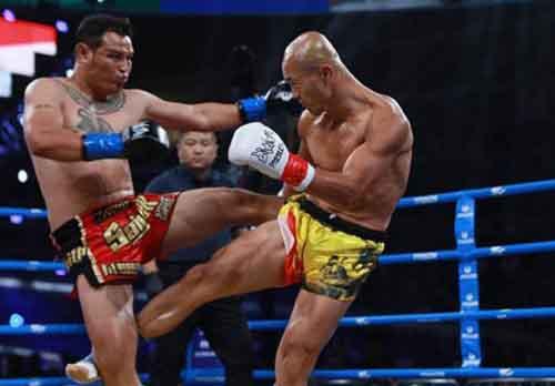 Cao thủ Yi Long bị võ sĩ Muay Thái hạ knock-out sau 150 giây