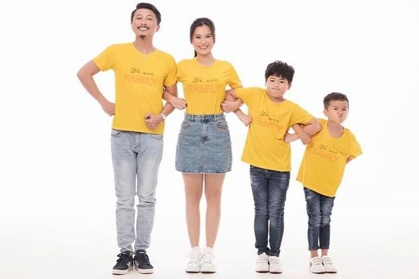 Hứa Minh Đạt - Lâm Vỹ Dạ khoe ảnh gia đình hạnh phúc