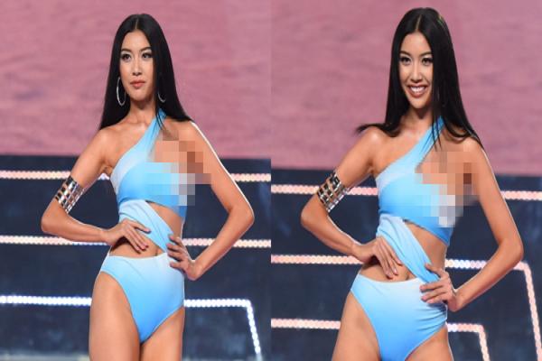 Thúy Vân từ chối nói về sự cố lộ ngực trên sóng truyền hình