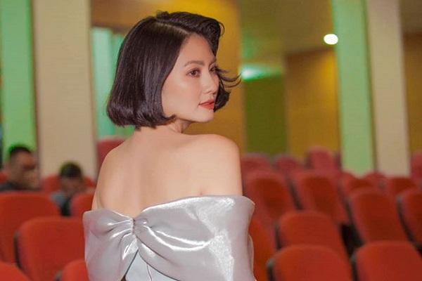 Được khen tóc ngắn trẻ trung, Ngọc Lan tiếp tục có lần xuất hiện đẹp miễn chê