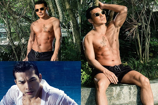 Hiếm sao nam nào 45 tuổi mà vẫn sở hữu body 6 múi như Trần Bảo Sơn