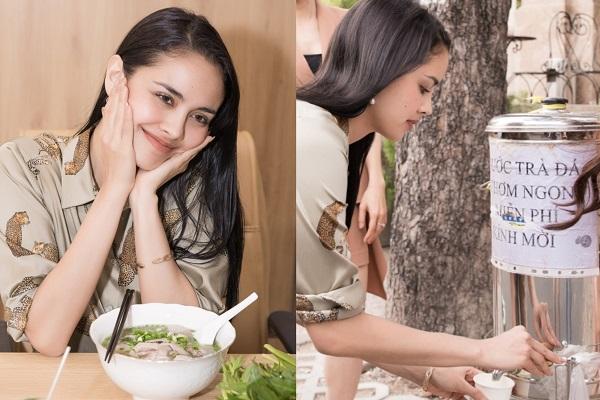 Hoa hậu Thế giới 2013 đến Việt Nam, mê ăn phở và uống trà đá vỉa hè miễn phí