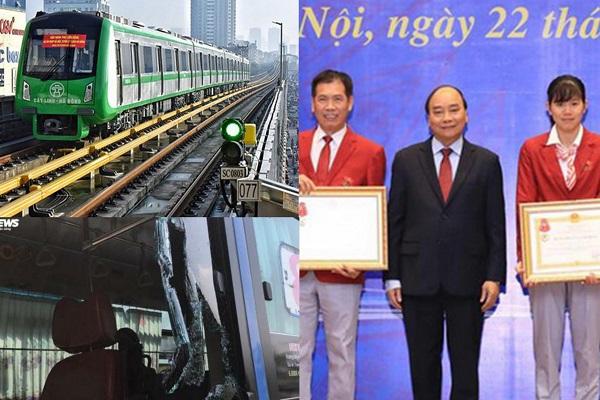 News 24h (23/12): Đường sắt Cát Linh – Hà Đông và côn đồ đập phá xe buýt gây bức xúc