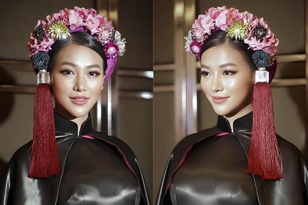 Diện áo dài đi chấm thi Miss Earth 2019, Phương Khánh khiến mọi người phải 'lác mắt'
