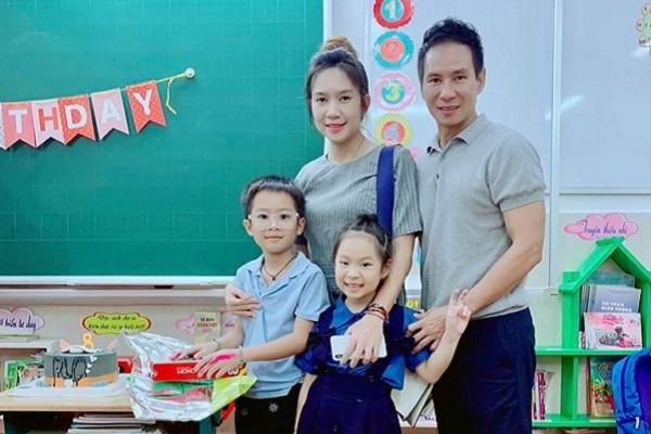 Vợ chồng Lý Hải - Minh Hà tổ chức sinh nhật ấm cúng cho con trai