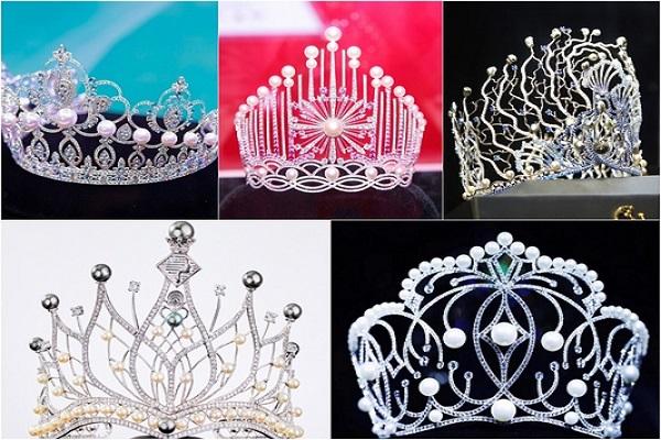 5 chiếc vương miện Hoa hậu đắt giá nhất của Việt Nam