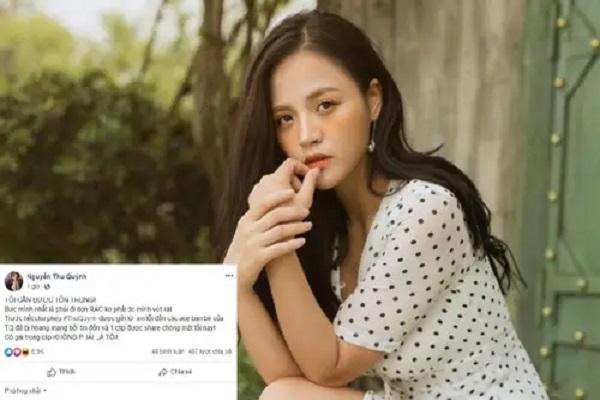 'My sói' Thu Quỳnh phủ nhận chuyện lộ clip nóng: 'Tôi cần được tôn trọng'
