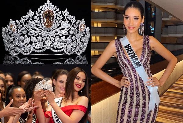 Vương miện Miss Universe 2019 có giá trị 116 tỷ: Hoàng Thùy sẽ mang về Việt Nam?