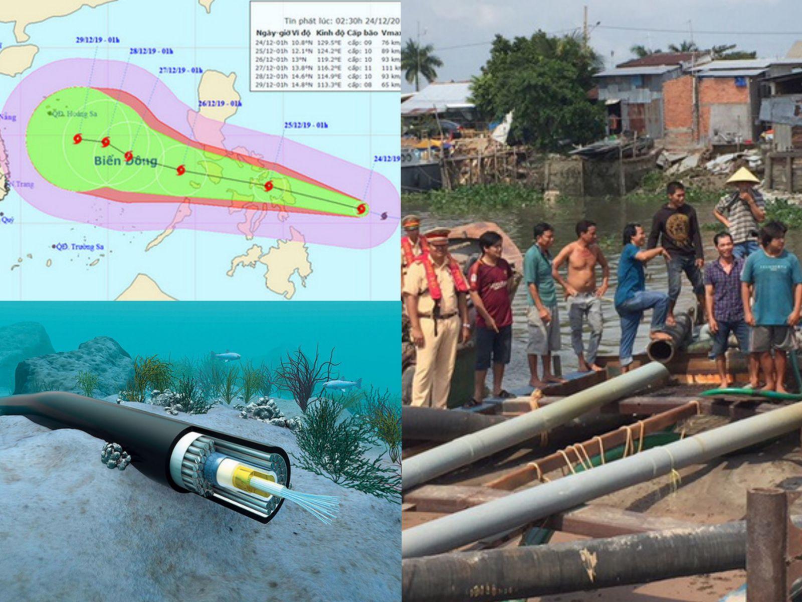 News 24h (24/12): Bão Phanfone vào gần Biển Đông, cán bộ thanh tra tỉnh bị bắt trên chiếu bạc
