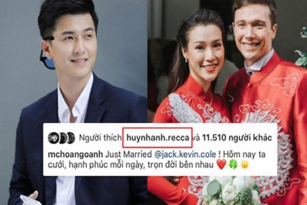 Hoàng Anh lấy chồng, người yêu cũ chúc: 'Làm vợ phải vui'