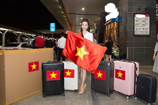 Á hậu Thuý An sang Ai Cập dự thi 'Miss Intercontinental 2019'