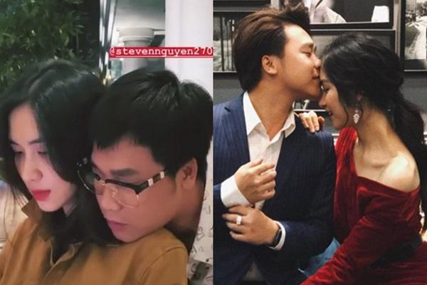 Giữa tin đồn vừa sinh con, Hòa Minzy xuất hiện tình cảm bên cạnh bạn trai đại gia