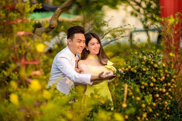 Kha Ly và Thanh Duy mong chờ chào đón 'chú tí con' trong năm mới