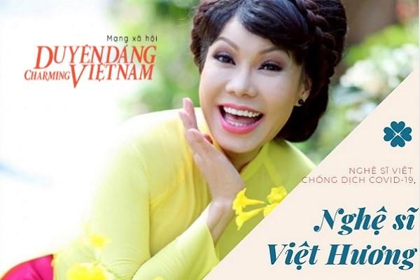 Nghệ sĩ Việt chống dịch Covid-19: Việt Hương tặng 5 tấn gạo cho bà con nghèo