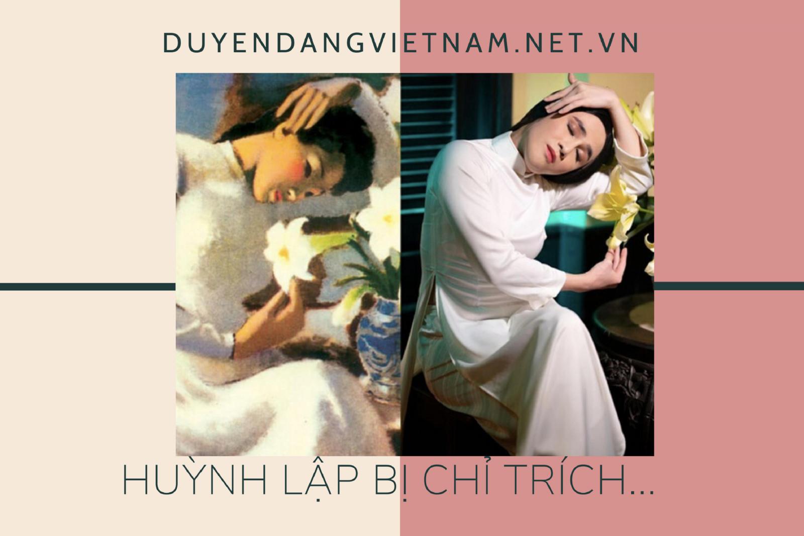 Huỳnh Lập nói gì khi bị chỉ trích 'nhại' tranh Thiếu nữ bên hoa huệ?