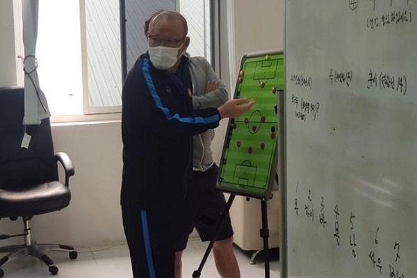 HLV Park Hang-seo để lộ tên 4 cầu thủ mới sẽ được gọi lên tuyển Việt Nam