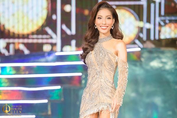 Vicky Trần ghi điểm tại đêm bán kết 'Hoa hậu Chuyển giới 2020'