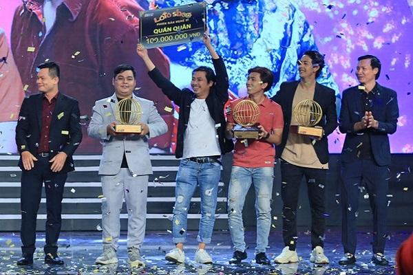Nhóm Hey Man đoạt giải quán quân 'Lô tô show - Phiên bản nghệ sĩ'