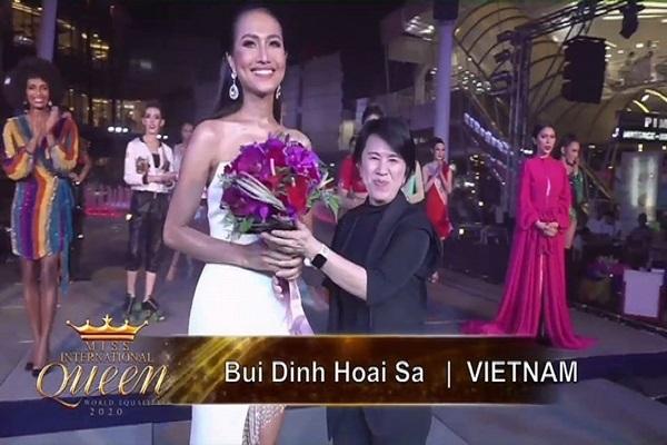 Miss International Queen 2020: Việt Nam xếp hạng 2 phần thi tài năng