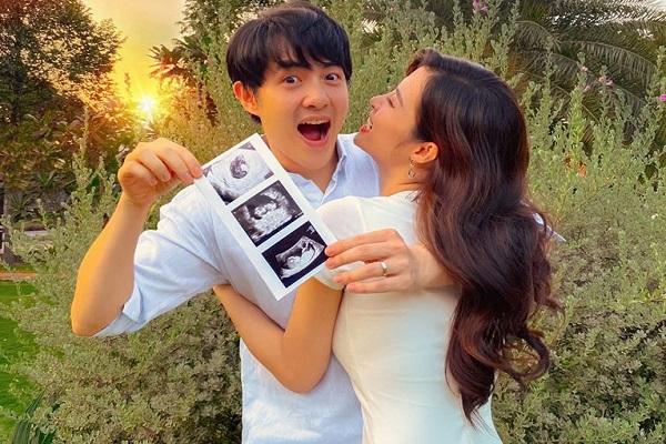 Đông Nhi mang thai 3 tháng, Ông Cao Thắng hồi hộp từng ngày