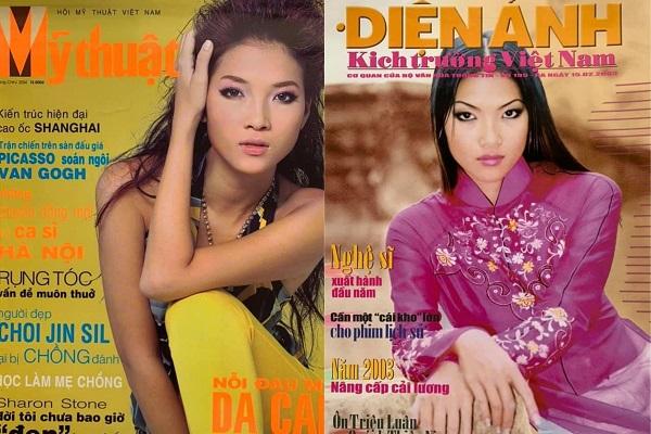 Người mẫu Bằng Lăng từng 'càn quét' các trang bìa tạp chí tại Việt Nam
