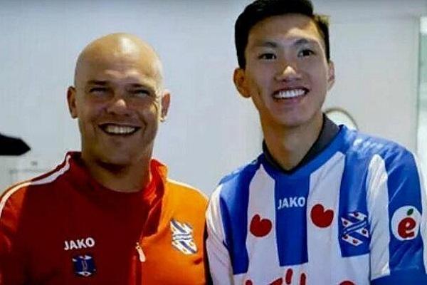 HLV Heerenveen xác nhận có thể mượn thêm Đoàn Văn Hậu 1 mùa nữa