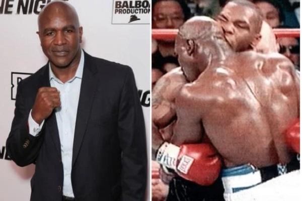 Holyfield - võ sĩ từng bị Mike Tyson cắn đứt tai thượng đài trở lại ở tuổi U.60