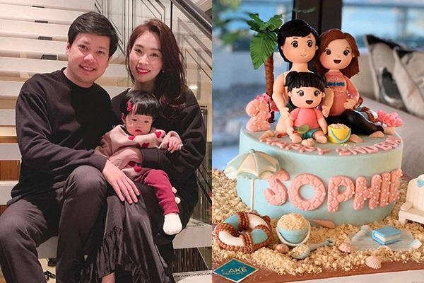 Hoa hậu Đặng Thu Thảo sinh con thứ 2, bé trai nặng 3,5kg