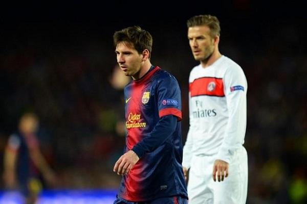 Messi chính là nguyên nhân chính khiến David Beckham 'treo giày'