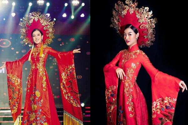 Diện đồ cũ của Huyền My, Á hậu Kiều Loan chứng tỏa mình không hề thua kém 'đàn chị'