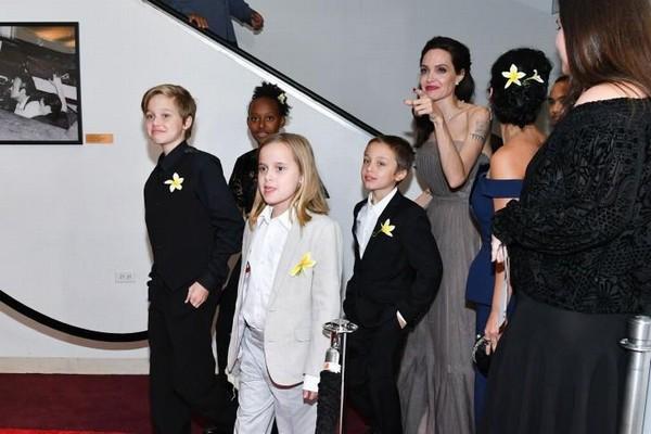 Chuyện thú vị về hai con sinh đôi của Angelina Jolie và Brad Pitt